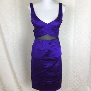 NWT bebe Aileen Cocktail Dress SZ M